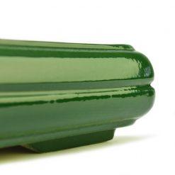 Керамическая плошка Под Бонсай №3 Зеленая  - Фото 4