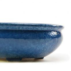 Керамическая плошка Овальная 1л Синяя- Фото 4