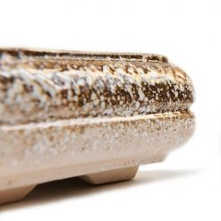 Керамическая плошка Под Бонсай №3 Гранит  - Фото 4